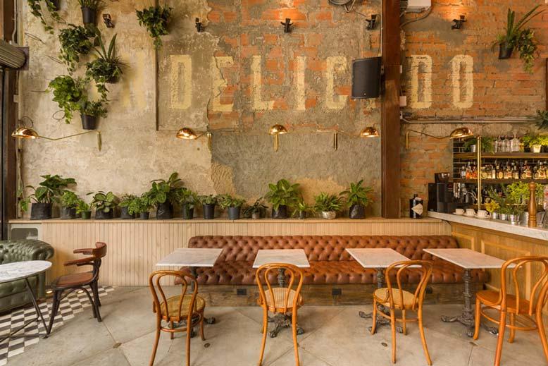 Phong cách quán cà phê rustic mang nét đẹp cổ xưa nhưng vẫn vô cùng tinh tế