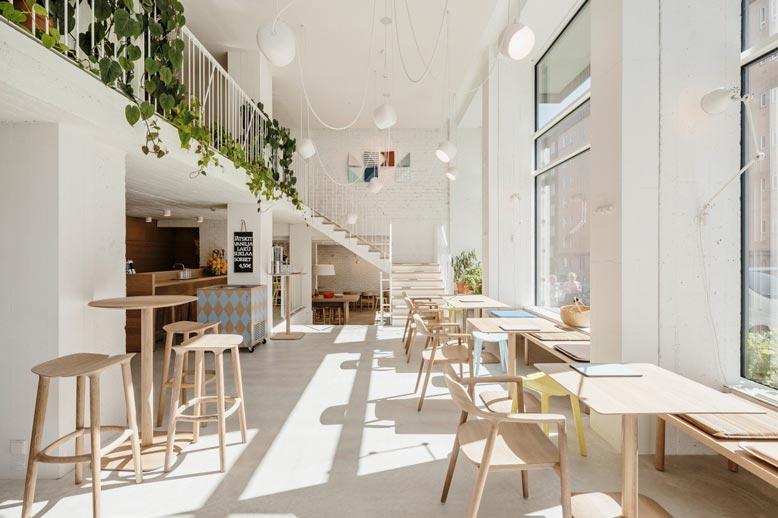 Phong cách thiết kế quán cafe Minimalist
