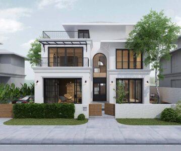 Chiêm ngưỡng 9 mẫu biệt thự 2 tầng đẹp nhất năm 2021