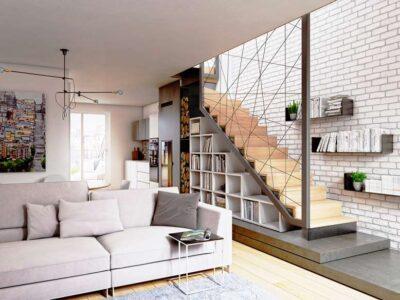 Tổng hợp các mẫu cầu thang cho nhà ống với thiết kế mới mẻ