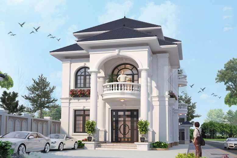 Gợi ý thiết kế biệt thự đẹp với kiến trúc trang nhã