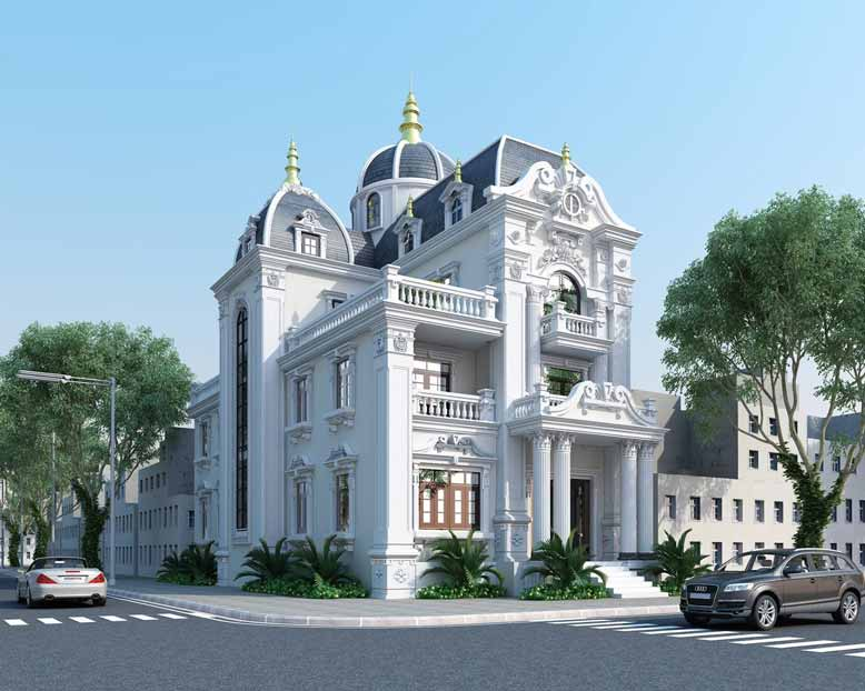 Một dự án tham khảo khác theo phong cách thiết kế cổ điển