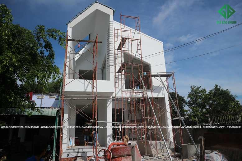 Thi công biệt thự thực tế tại Bình Thuận