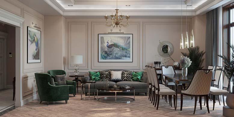 Thiết kế nội thất biệt thự, bố trí nội thất là công đoạn quan trọng