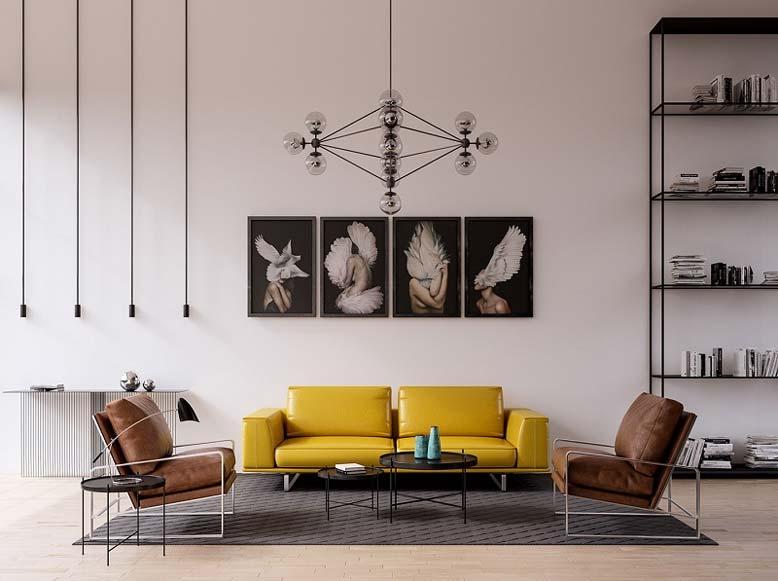 Thiết kế nội thất biệt thự phong cách hiện đại
