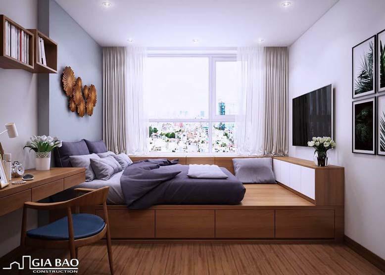 Thiết kế nội thất chung cư với đồ nội thất thông minh, đa chức năng