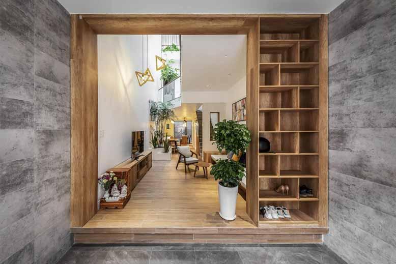 Thiết kế nội thất nhà nhỏ với không gian mở