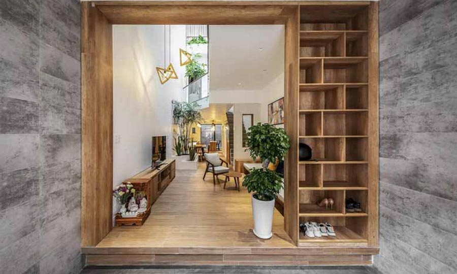 Thiết kế nội thất nhà nhỏ hẹp trở nên rộng rãi, tiện nghi