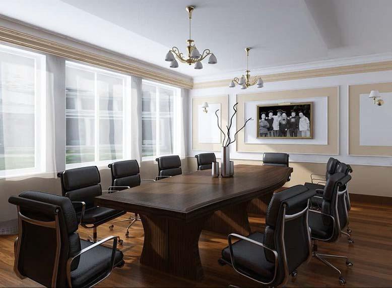 Bố trí, thiết kế nội thất phòng họp ở khu vực ít tiếng ồn