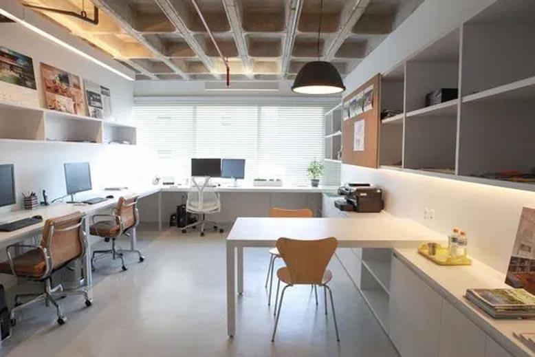 Chọn những gam màu sáng sủa cho thiết kế văn phòng có diện tích nhỏ