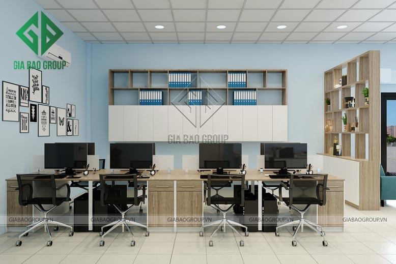 Chọn đồ nội thất có kích thước vừa phải cho thiết kế văn phòng có diện tích nhỏ
