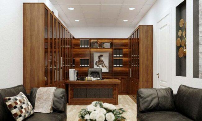 Ý tưởng thiết kế nội thất văn phòng giám đốc phong cách hiện đại