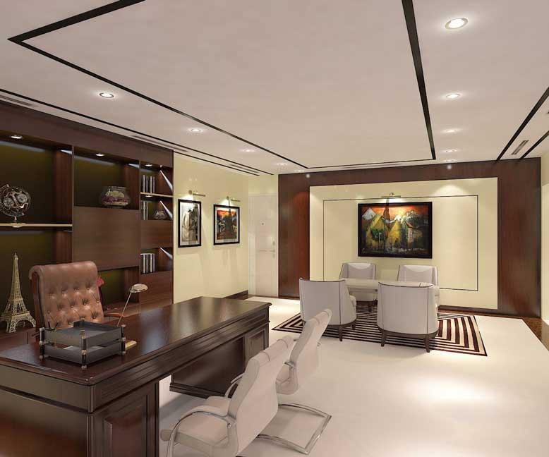 Chú ý đến yếu tố phong thủy khi thiết kế nội thất văn phòng giám đốc phong cách hiện đại