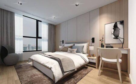 15+ Mẫu phòng ngủ đẹp cho nam với thiết kế nội thất thanh lịch