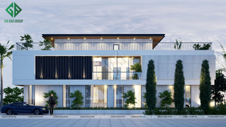 Thiết kế biệt thự dựa trên phong cách Châu Âu