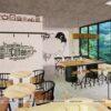 Tham khảo mô hình quán cafe kết hợp nhà ở, nhà chị My – Thủ Đức