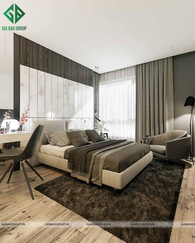 Phòng ngủ Master rộng rãi và thoải mái