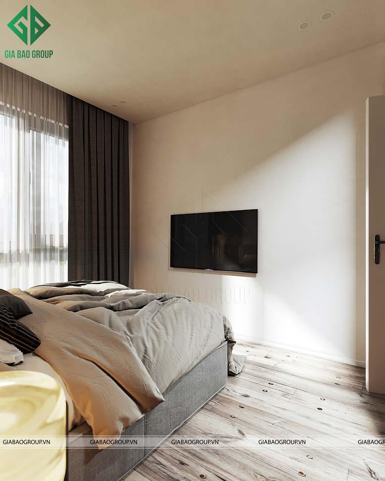 Phòng ngủ 2 nhẹ nhàng và dễ chịu