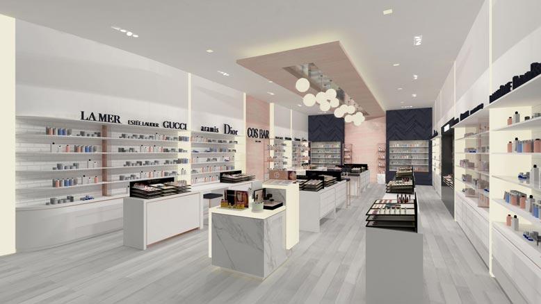 Thiết kế cửa hàng showroom đẹp, bắt mắt là tiêu chí thu hút khách hàng