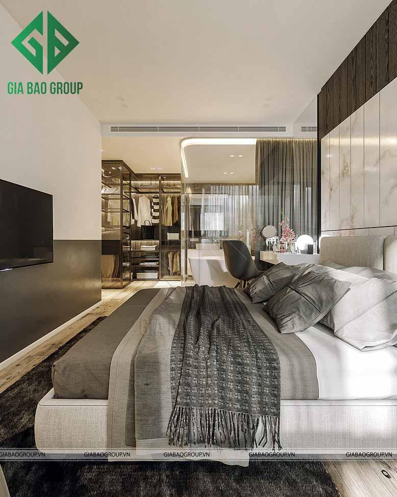 Phòng ngủ master trong thiết kế kiến trúc