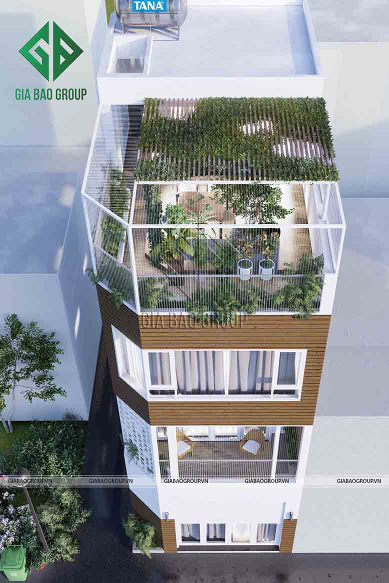 Tìm hiểu về thiết kế nhà phố có diện tích nhỏ