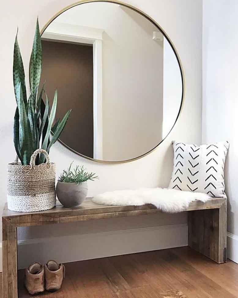 Sử dụng gương trong thiết kế nội thất