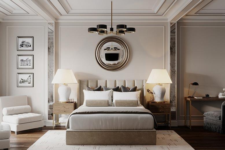 Thiết kế nội thất nhà phố không gian phòng ngủ