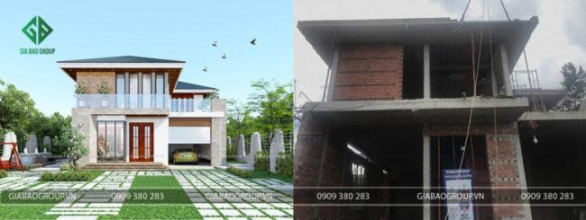 Sửa chữa cải tạo nhà 2 tầng giúp bạn tiết kiệm nhiều chi phí