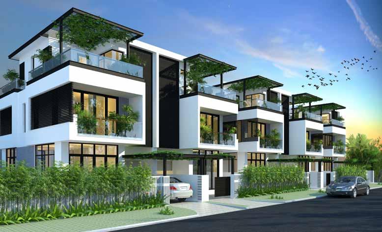 Thiết kế nội thất nhà liền kề cần khác biệt cho từng căn