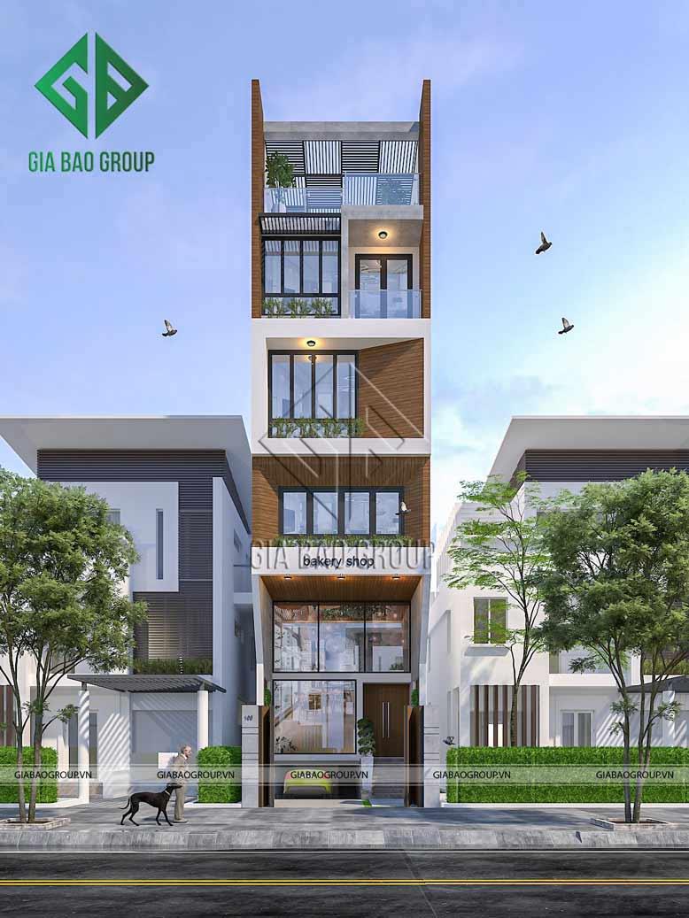 Những ưu điểm khi thiết kế nhà phố kết hợp mô hình kinh doanh