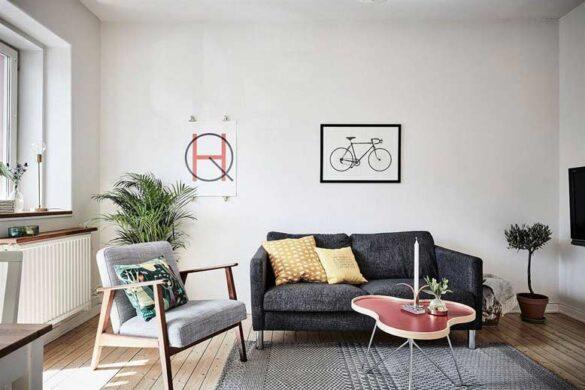 Thiết kế thi công căn hộ cao cấp phong cách Scandinavian