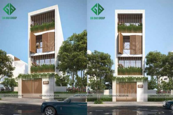 Thi công xây dựng nhà phố chất lượng tiết kiệm chi phí