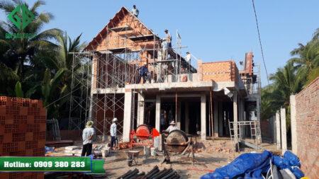 Thi công xây dựng phần thô giá rẻ ở TPHCM