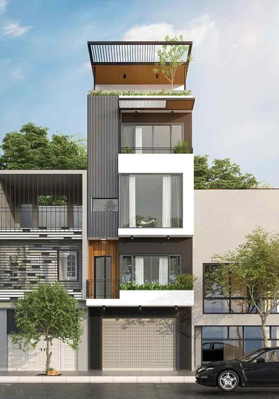 Xây dựng hố thang cẩn trọng trong nhà phố có thang máy