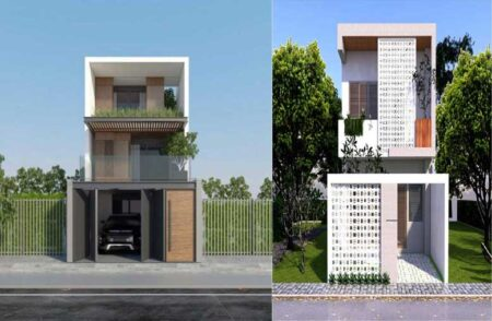 Thiết kế thi công nhà phố giá rẻ và những bí quyết không thể không biết