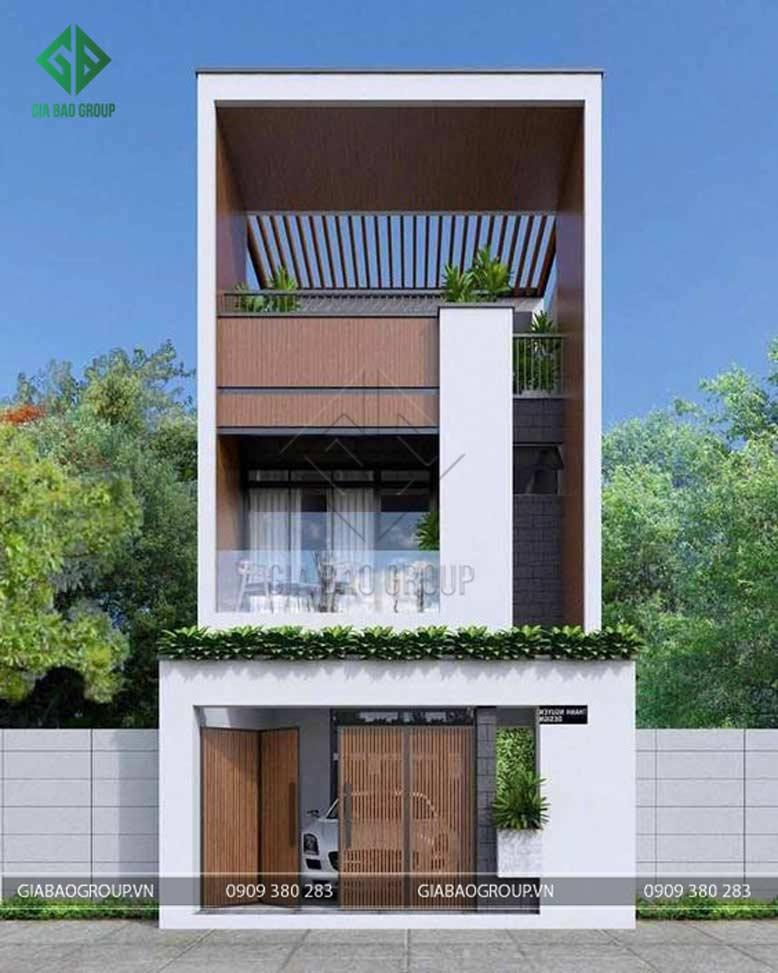Nên tính toán và dự trù kinh phí thiết kế nhà phố hiện đại đẹp