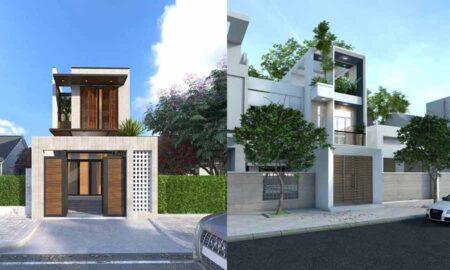 Thiết kế nhà phố giá rẻ và đẹp