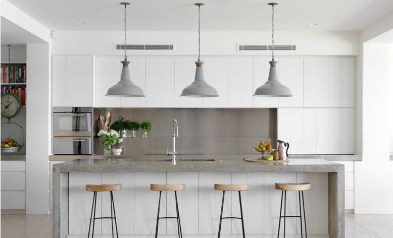 Thiết kế phòng bếp theo yếu tố phong thủy