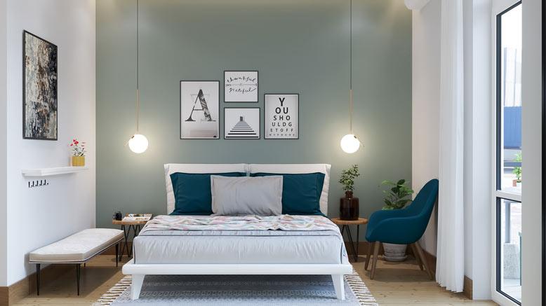 Thiết kế phòng ngủ sao cho thoải mái và dễ chịu