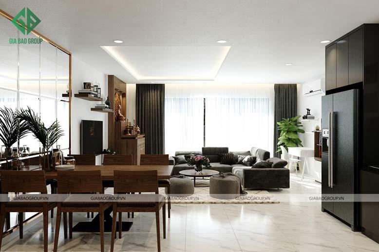 Bí quyết có thể sở hữu nội thất chung cư đẹp với 100m2