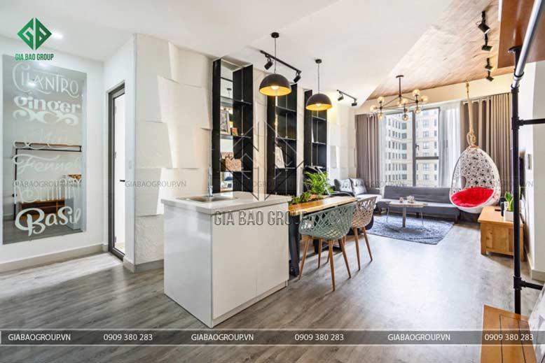 Ánh sáng rất quan trọng và cần thiết khi thiết kế nội thất chung cư