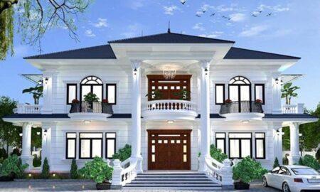 Những mẫu nhà 2 tầng đẹp và đẳng cấp cho gia chủ sành điệu