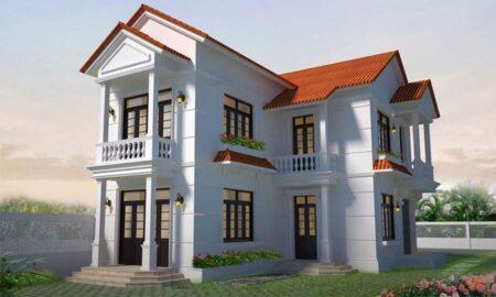 Những mẫu nhà 2 tầng hình chữ L đẹp, được nhiều gia đình yêu thích