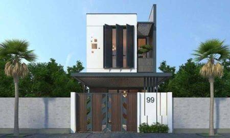 Những thiết kế nhà 2 tầng 90m2 đẹp và sang trọng