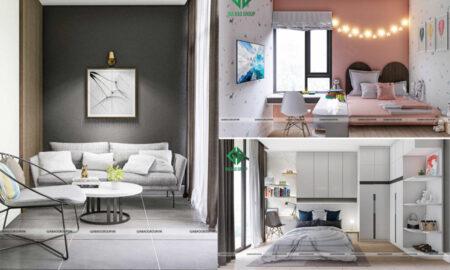 Nội thất nhà phố 4 tầng hiện đại đẹp dịu dàng, ấm áp – chị Hiền, TP Sa Đéc, Đồng Tháp