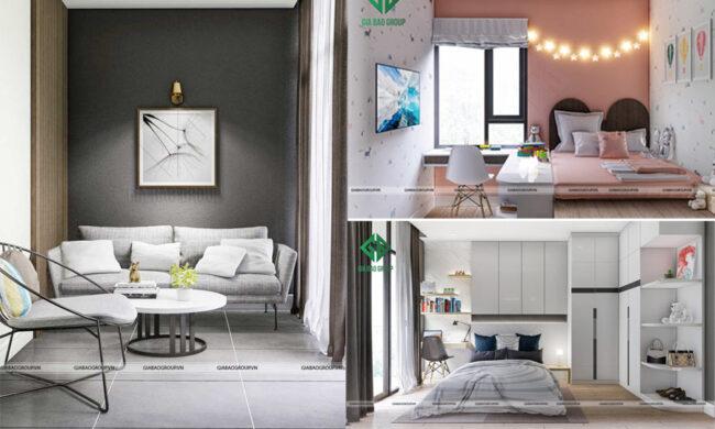 Thiết kế nội thất nhà phố 4 tầng hiện đại