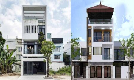 Thiết kế nhà lệch tầng đẹp, ấn tượng được nhiều gia chủ yêu thích