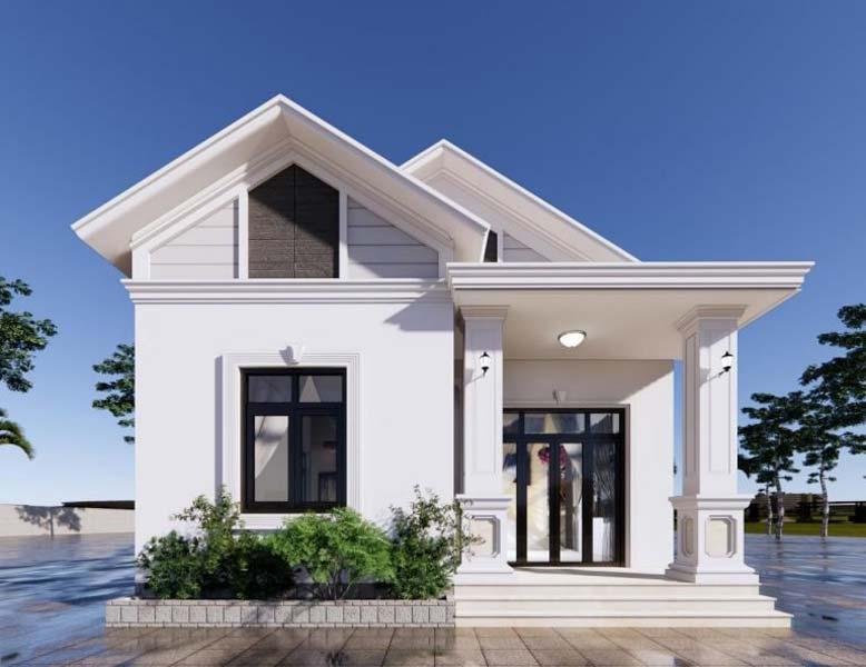 Nhà 1 tầng mái thái đẹp