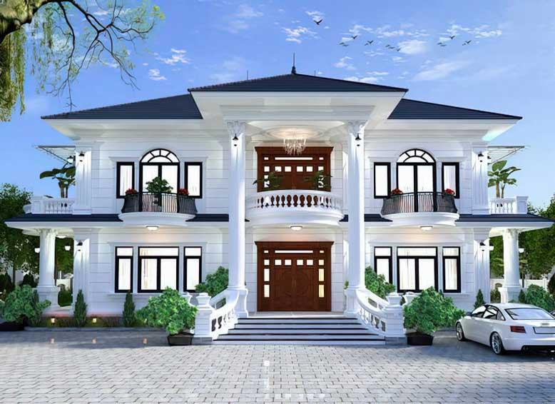 Mẫu nhà 2 tầng kiểu Nhật