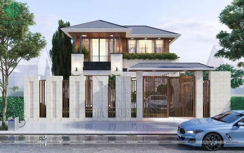 Giải pháp không gian khi thiết kế nhà 2 tầng